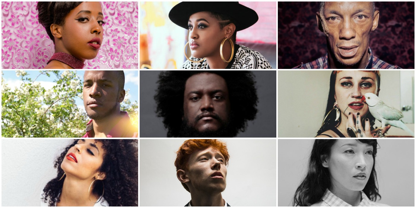 Rhythm Lab, Kamasi Washington, Rapsody, Little Dragon, King Krule