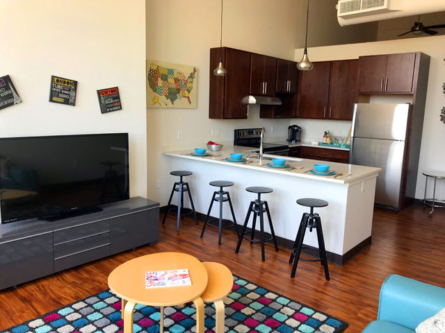Check out the new super modern mitchell st library for Apartment makerspace