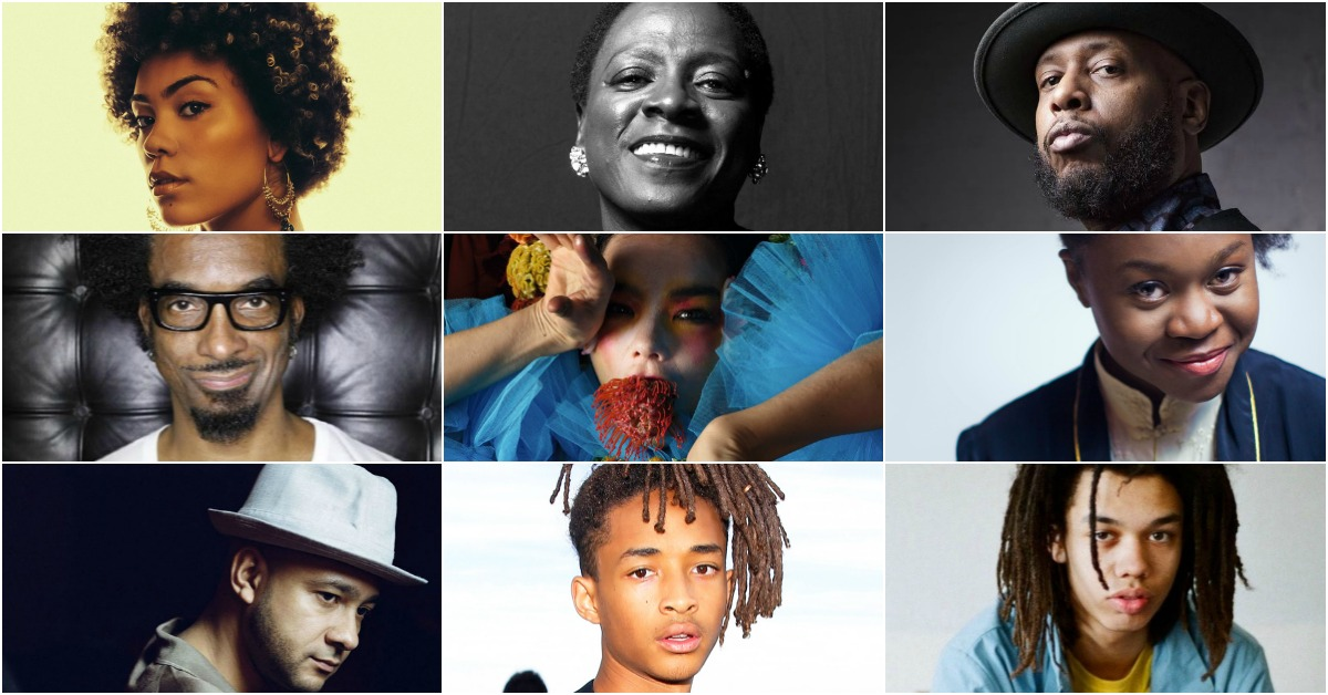 Amp Fiddler, Bjork, Jaden Smith, Sharon Jones, Nightmares on Wax, Cosmo Pyke, Sampa The Great, Madison Mcferrin