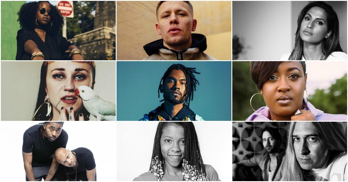 Rapsody, Miguel, Patrice Rushen, Rhythm Lab, Curtis Harding