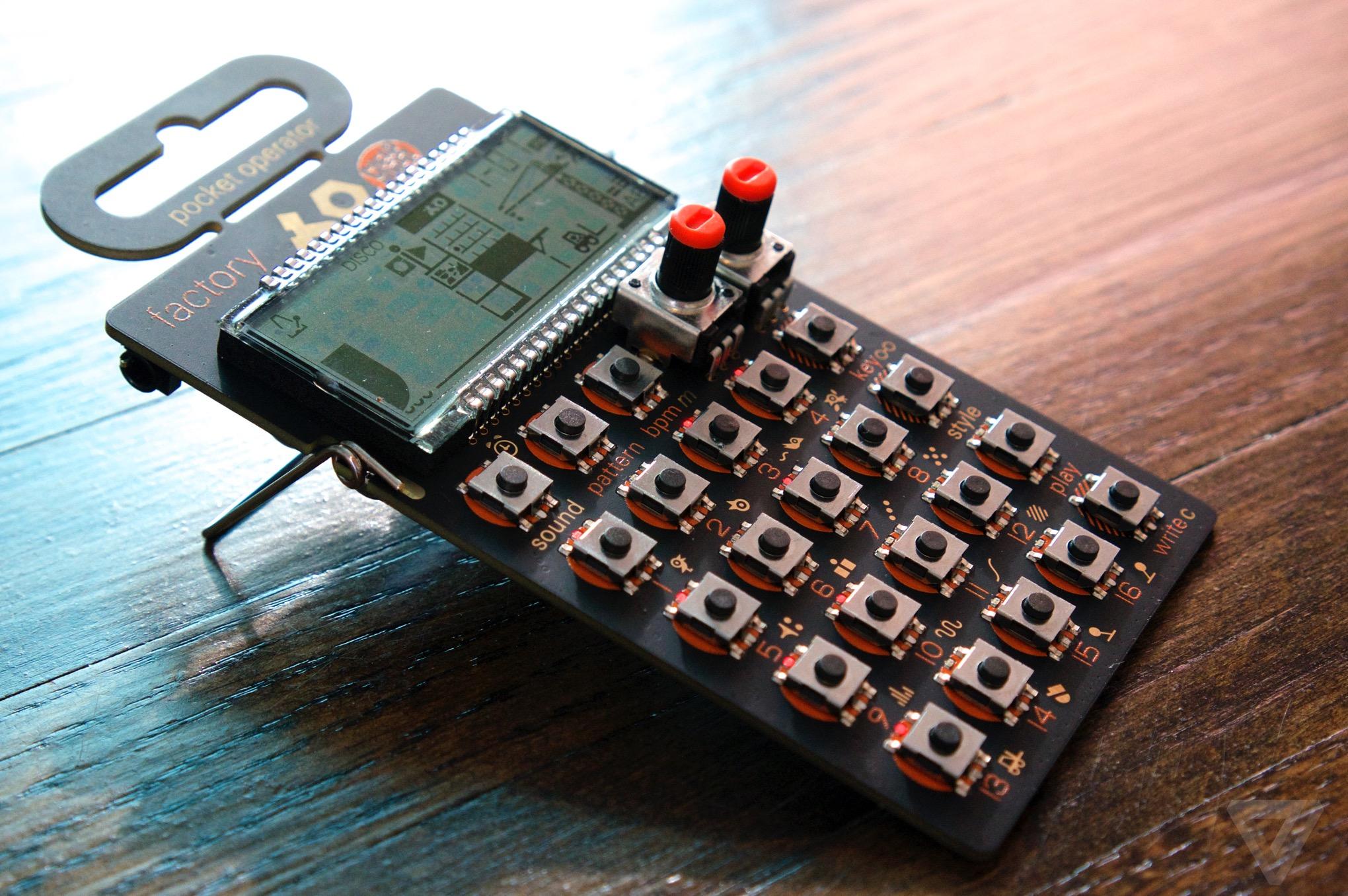 Teenage Engineering Pocket Operator
