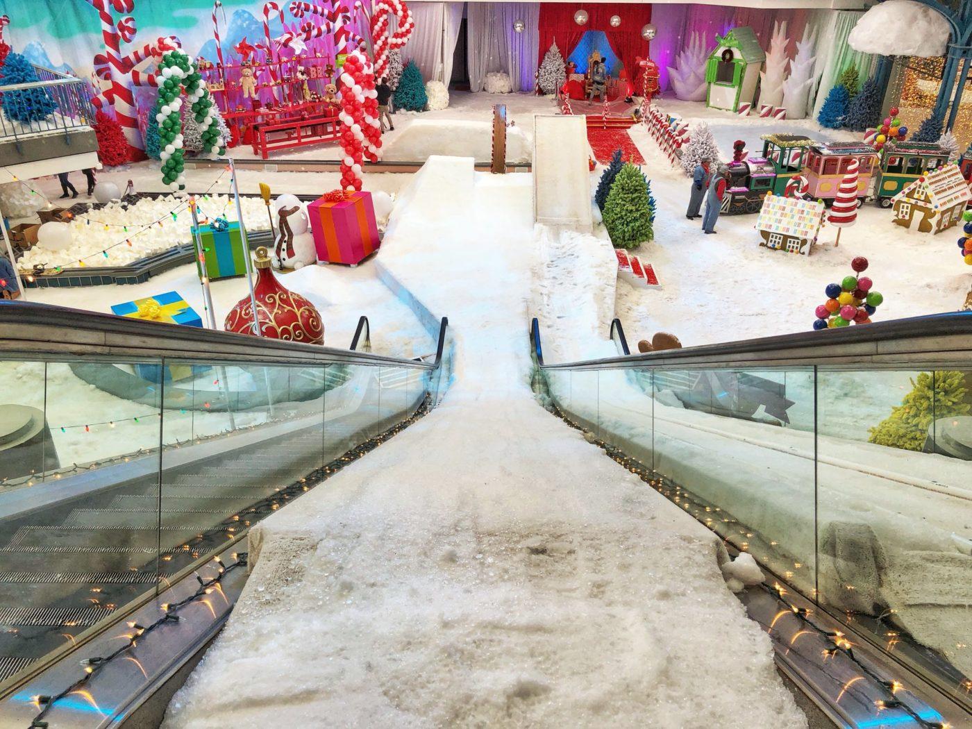 Winter Wonderland, abandon mall, Milwaukee