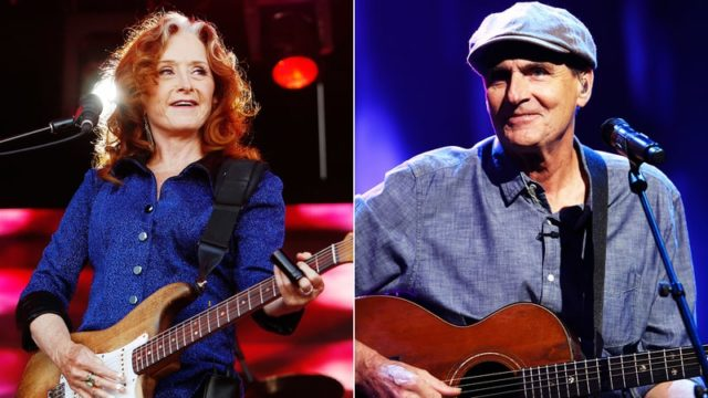 James Taylor, Bonnie Raitt coming to Tampa's Amalie Arena