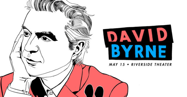 David Byrne is coming to Milwaukee!