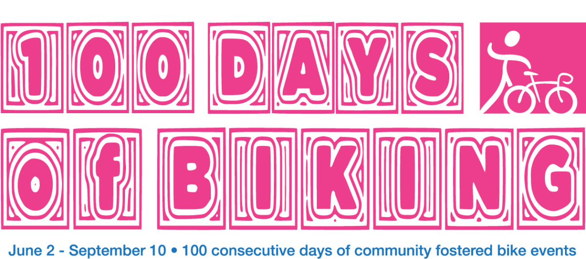 100 days of biking in milwaukee