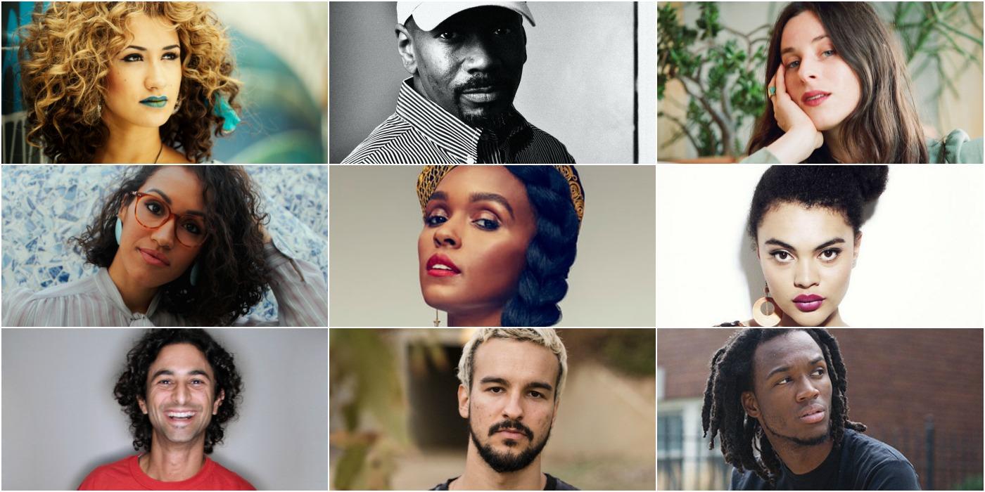 Janelle Monae, Mr. Fingers, Cleo Sol, Kadhja Bonet, Estere, Buzzy Lee