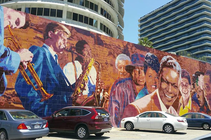 capitol records mural
