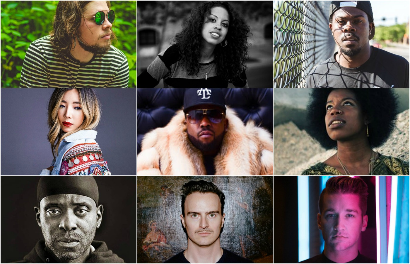Parker Louis, K.Raydio, DJ Manny, TOKiMONSTA, Big Boi, Georgia Anne Muldrow, Model 500, Cid Rim, Louis Futon