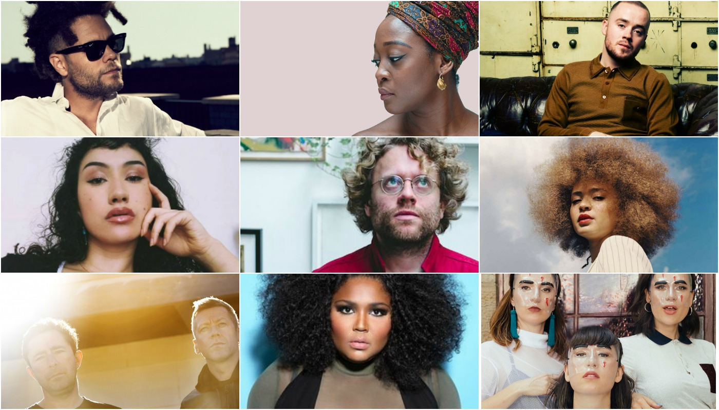 Kassa Overall, Seed Ensemble, Maverick Sabre, Cleo Sol, Benny Sings, Connie Constance, The Cinematic Orchestra, Lizzo, Haiku Hands