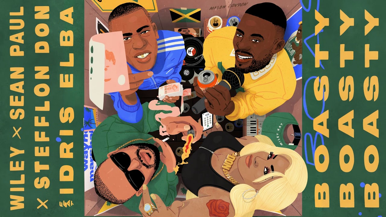 Wiley, Idris Elba, Sean Paul and Stefflon Don