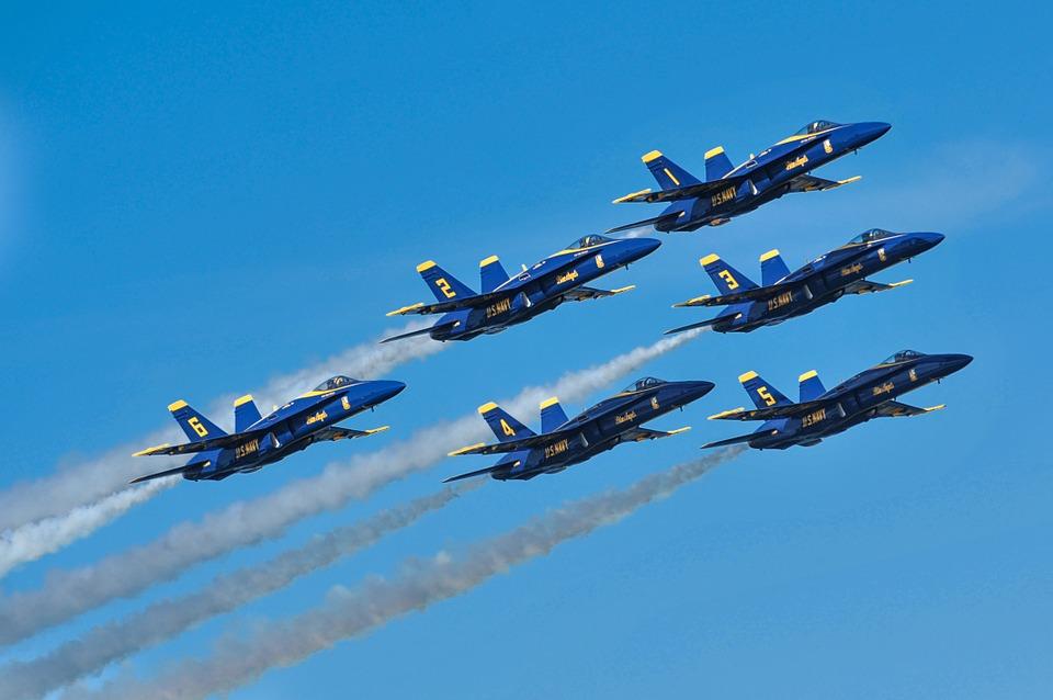 Milwaukee Air Show 2020.Blue Angels Will Scream Through The Skies Again At