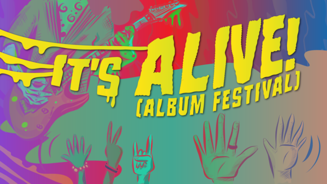 Here's the lineup for day two of 88Nine's It's Alive! Album Festival