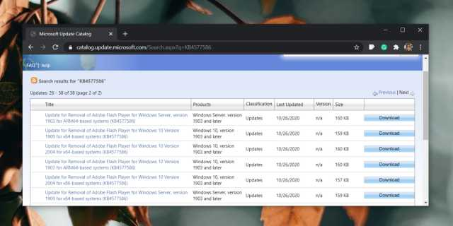 How to remove Adobe Flash from Windows 10