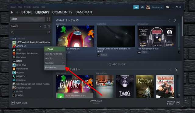 How to disable automatic game updates in Steam