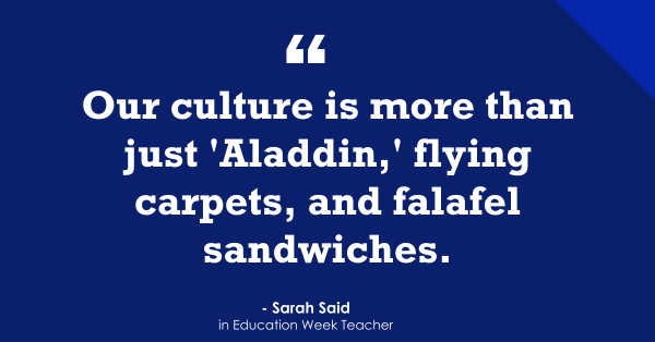 """'More Than Aladdin': Dismantling Common Misconceptions About Arab and Muslim Students"""