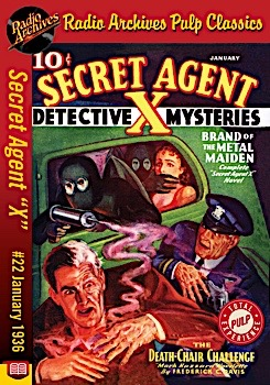 Radio archives secret agent x 22 ebook brand of the metal maiden january 1936 399 fandeluxe Document