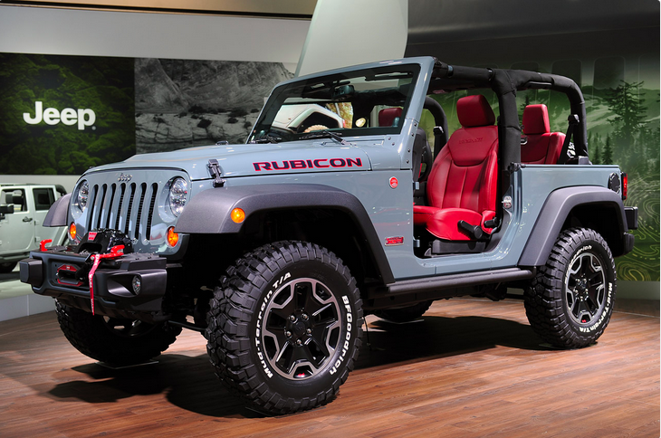 Different Types Of Jeeps >> New 2Door Jeep Wrangler Rubicon