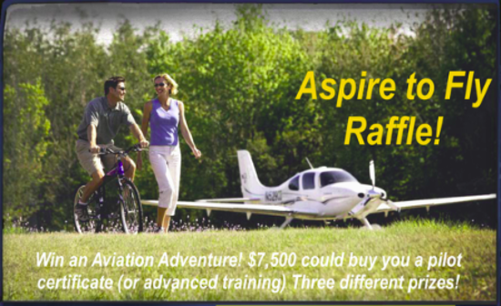 Second Annual Aspire To Fly Raffle 2015