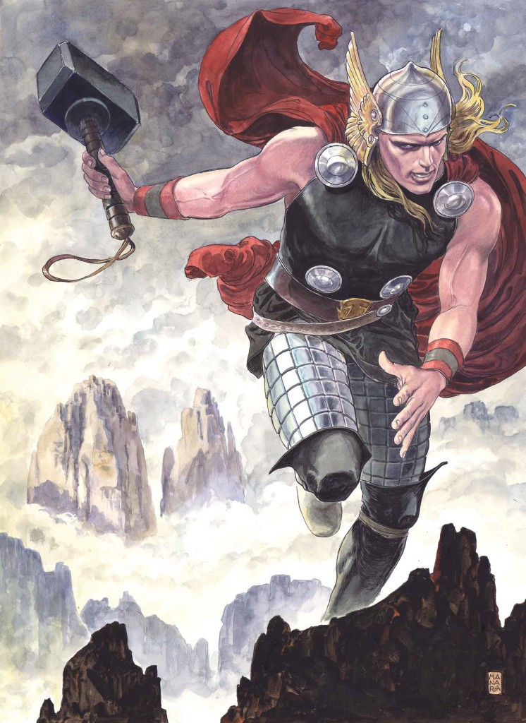 Thor God of Thunder 25 Manara Variant