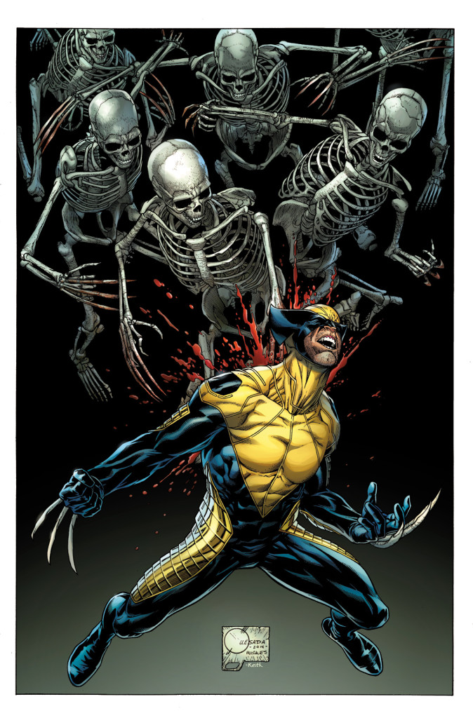 Death of Wolverine 1 Quesada Variant