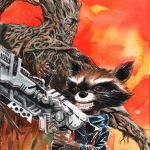 Guardians of the Galaxy 21 Dustin Nguyen RRG Variant