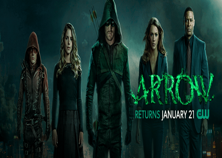 Arrow Season Premiere 1.21.15