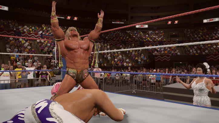 Warrior Wrestlemania VII 4