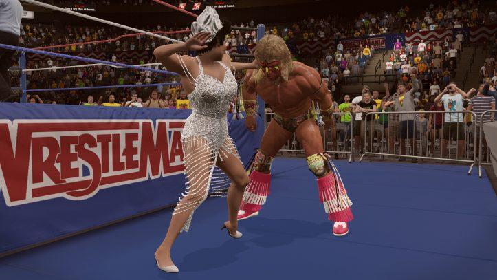 Warrior Wrestlemania VII 1