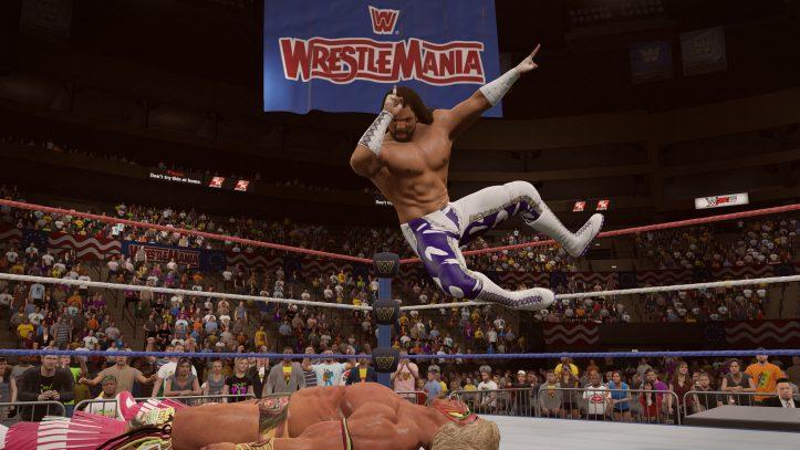 Savage Wrestlemania VII 1