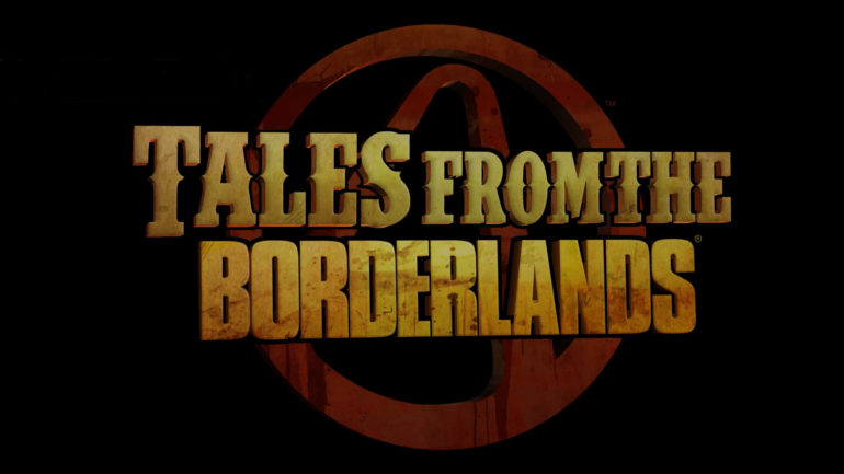 Tales from the Borderlands in game logo