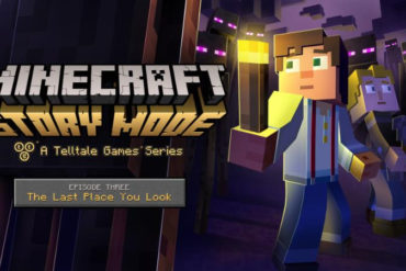 Minecraft: Story Mode, Episode 3 logo