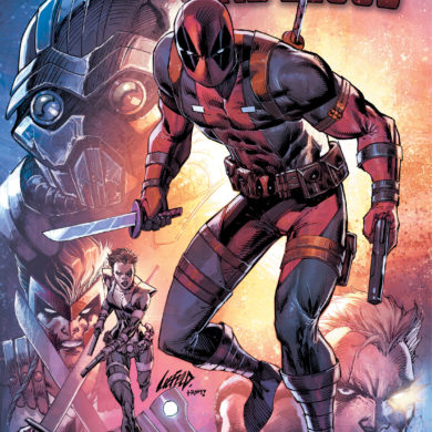Deadpool Bad Blood OGN Cover