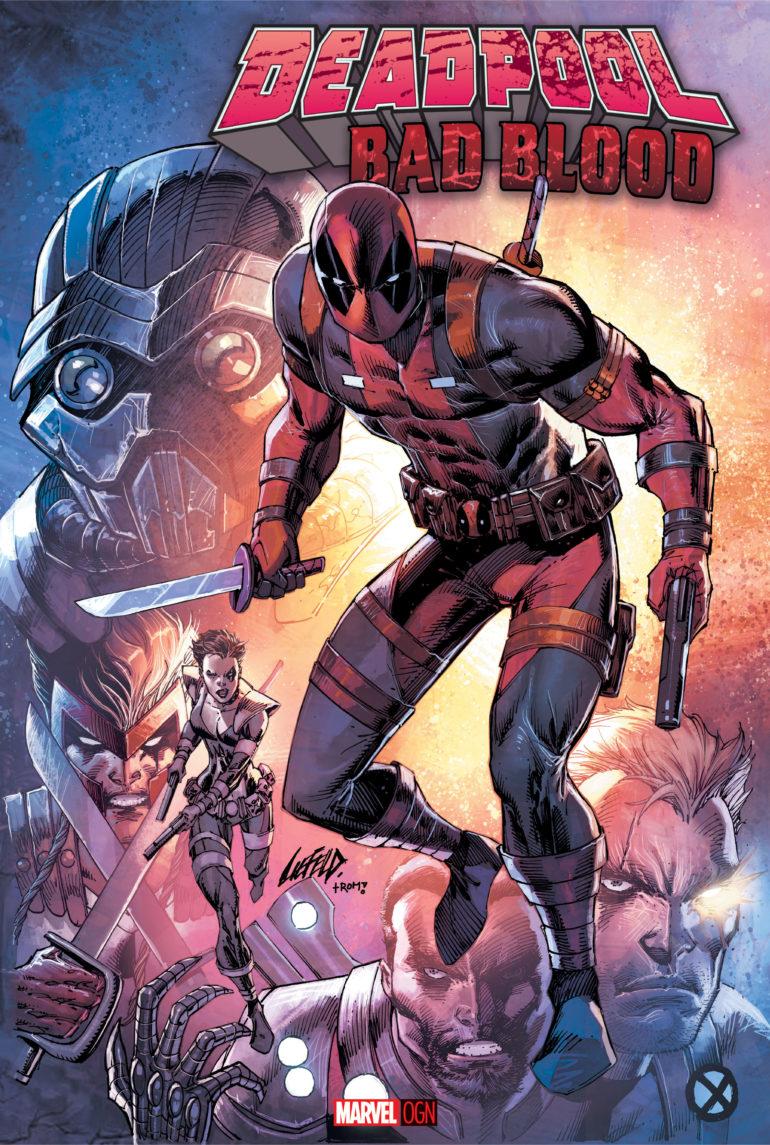 Deadpool Bad Blood OGN Cover