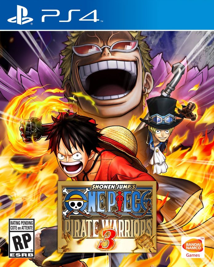 One Piece: Pirate Warriors 3 - box art