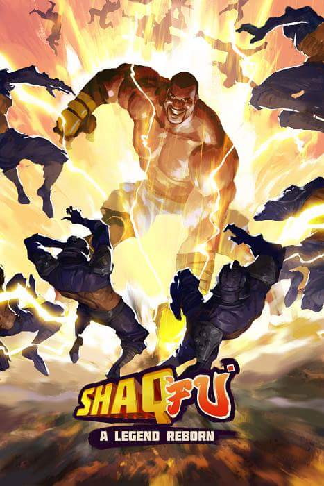 Shaq-Fu: A Legend Reborn key art