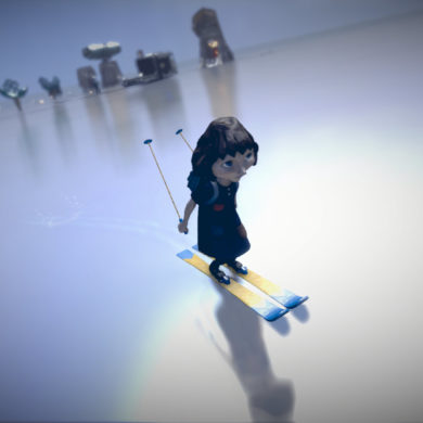 The Tomorrow Children - skis