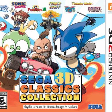 Sega 3D Classics Collection - box art