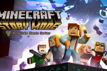 Minecraft Story Mode Ep 1 key art no episode title