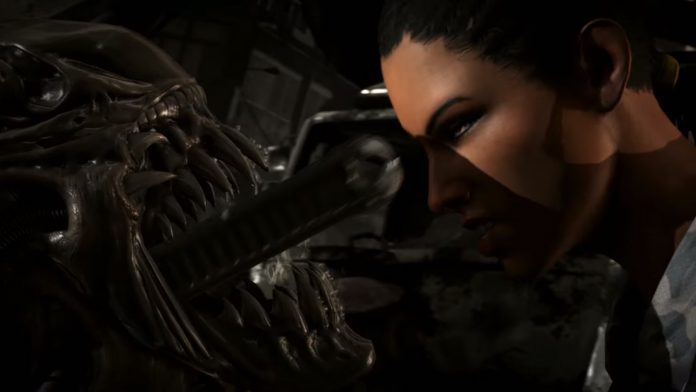 Mortal Kombat X - Alien FINISH HER