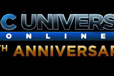 DC Universe Online - 5 year logo