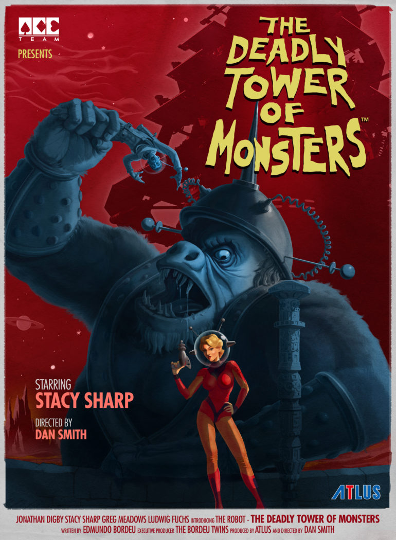 The Deadly Tower of Monsters - poster