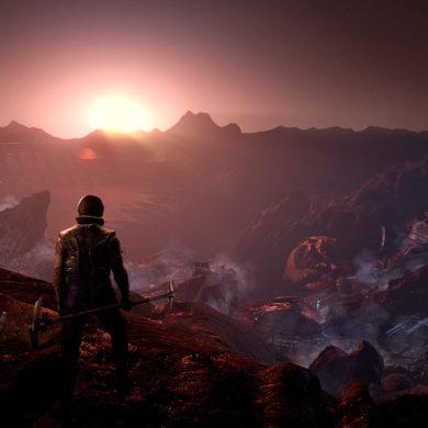 The Tehnomancer - horizon