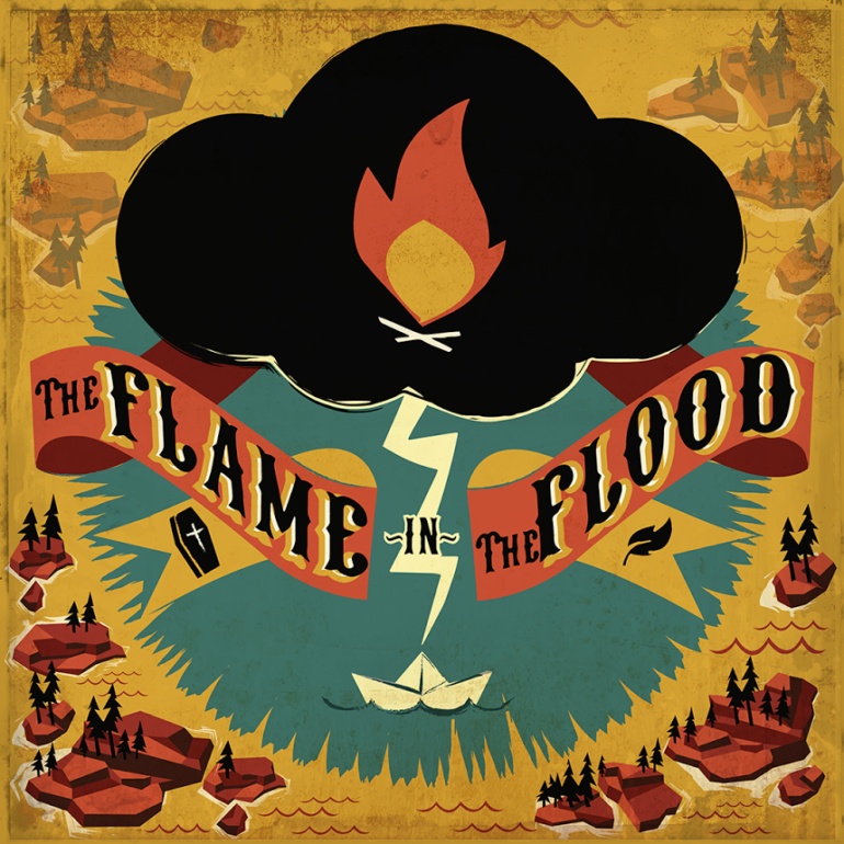 The Flame In the Flood - box art