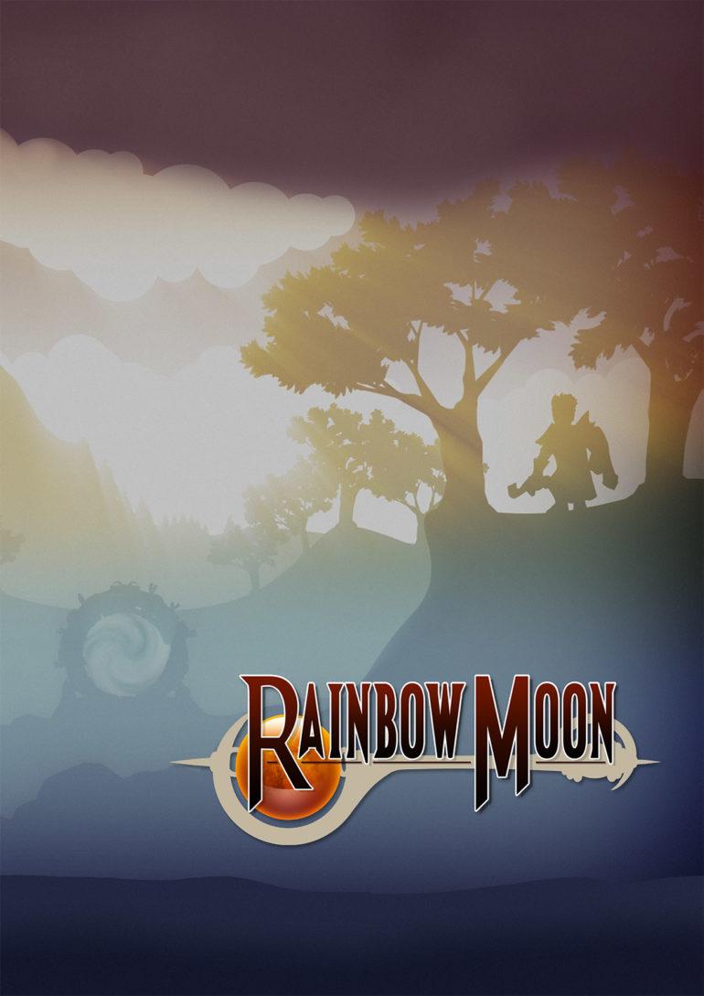 Rainbow Moon - Art B