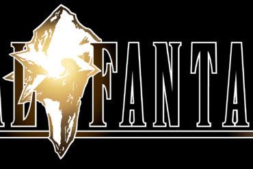 Final Fantasy IX - black logo