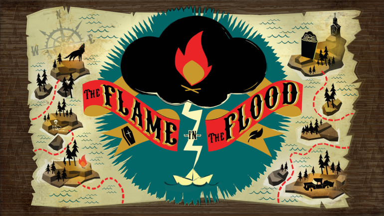 The Flame In the Flood - logo