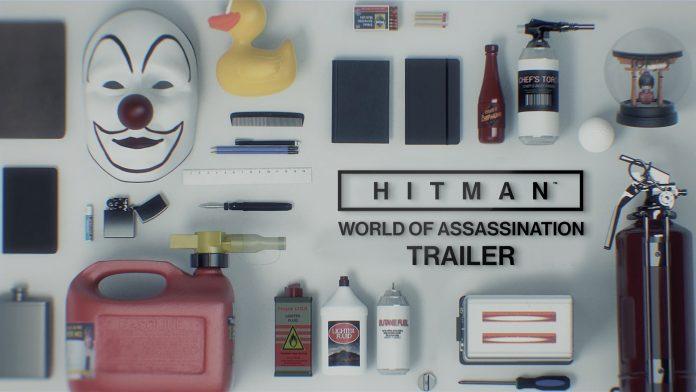 Hitman - WoA Trailer cover
