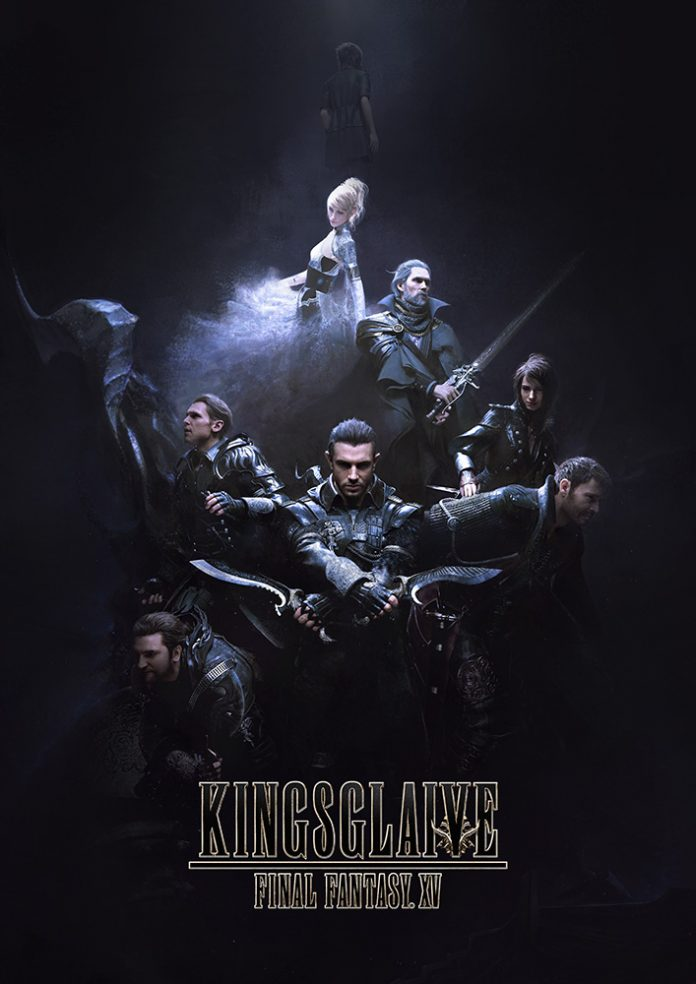 Final Fantasy XV - Kingsglaive cover