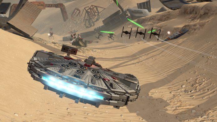 LEGO Star Wars: TFA - Falcon