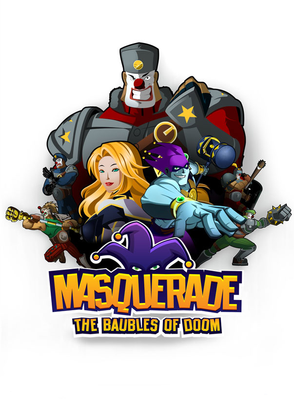 Masquerade: The Baubles of Doom - logo